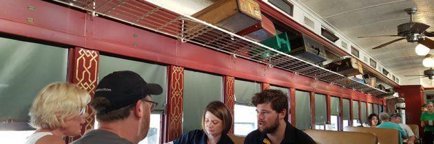 Dine at Kedhe's BBQ in Sedalia, MO, in a 1920 Railroad Car