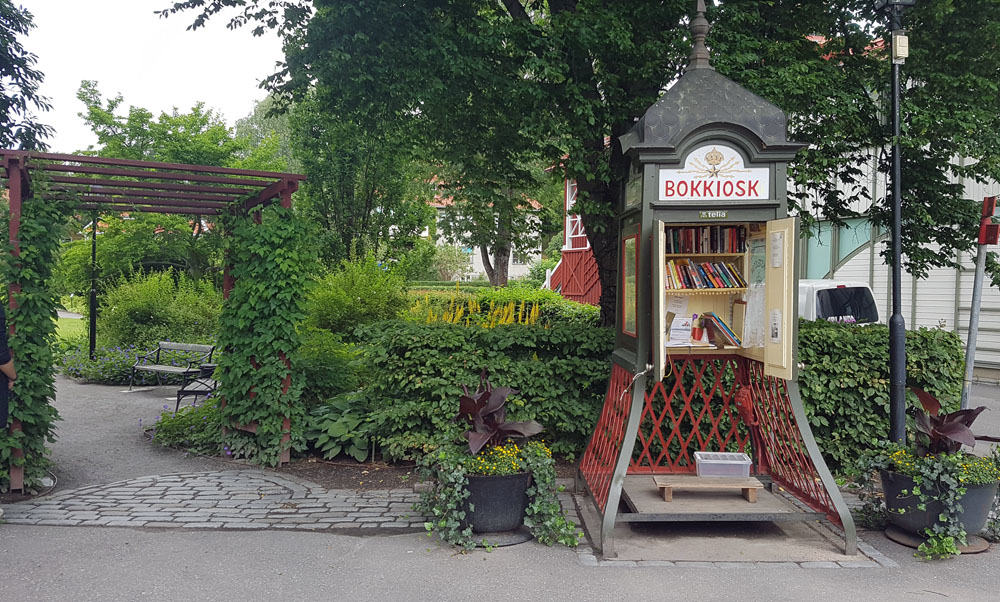 Sigtuna is Home to Sweden's Smallest Library — Can You Guess What it Used to Be? #TriviaTuesday