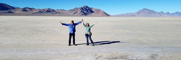 From the Nevada Desert to the Great Salt Lake Desert — Road Trip