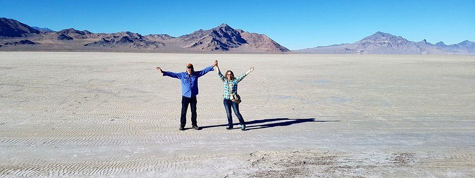 From the Nevada Desert to the Great Salt Lake Desert — Road Trip