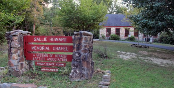 Sallie Howard Stone Church in Alabama.