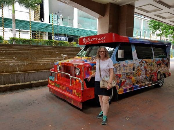Jeepney to Resorts World in Manila