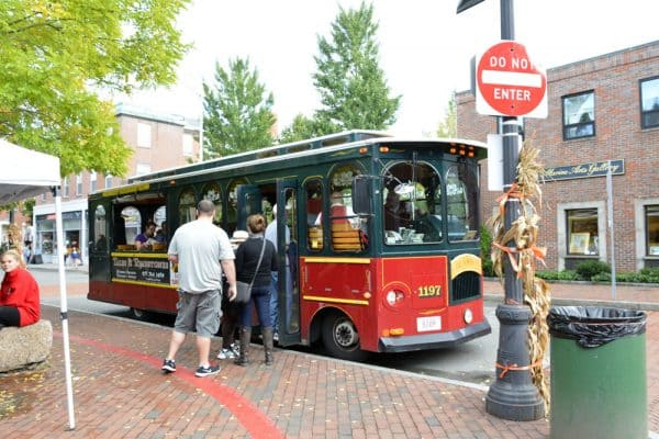 Salem Trolley Tour to learn more about the history of the witches of Salem.