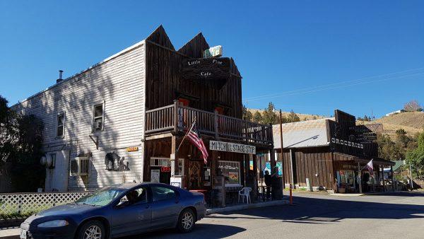 Historic Mitchell, Oregon.