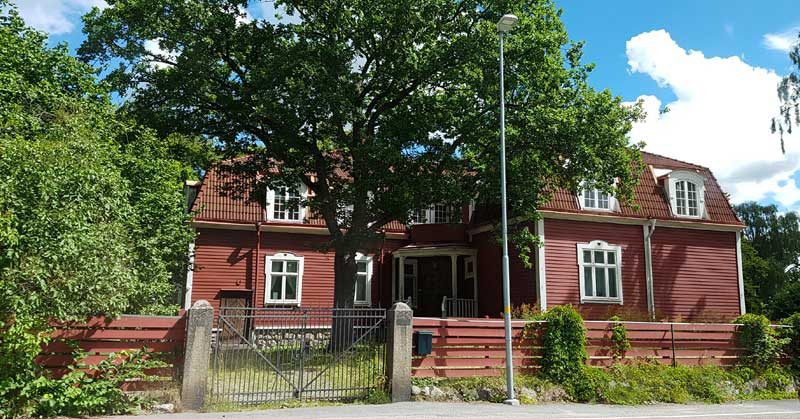 House in Strangnas, Sweden.