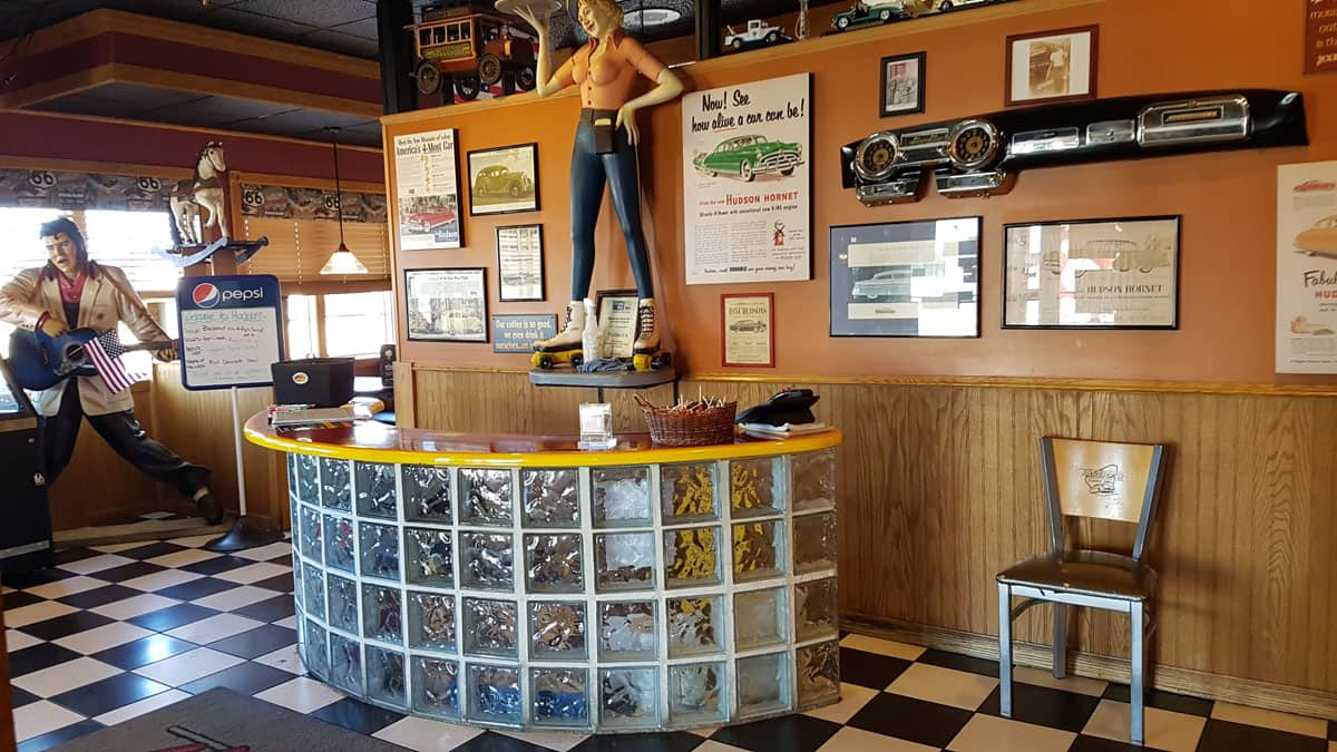 50s Theme Restaurant: Hudson's Classic Grill in Escanaba, Michigan #food