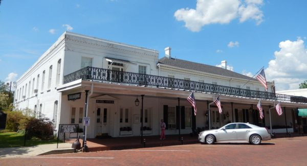 Excelsior House Hotel in Jefferson, Texas.