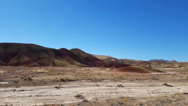 Painted Hills in Oregon.