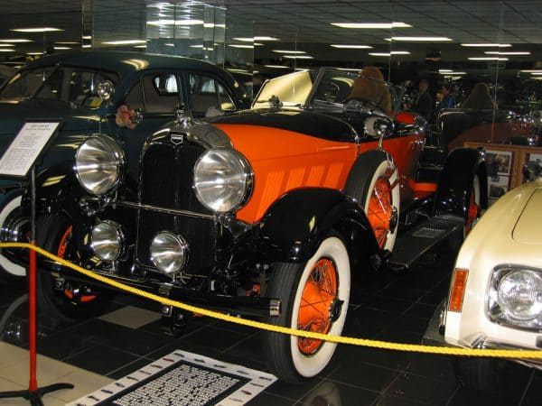 1929 Auburn at the Tallahassee Auto Museum in Florida.