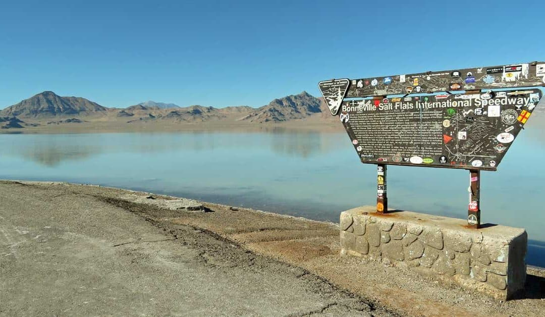 Bonneville Salt Flats — A Century of Land Speed Record Runs