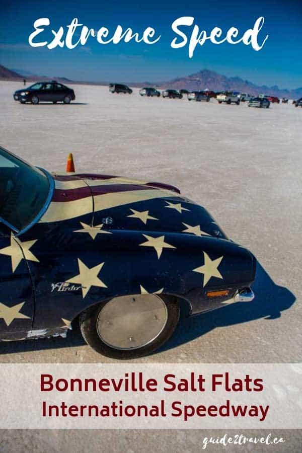 Visit Bonneville Salt Flats International Raceway in Utah.