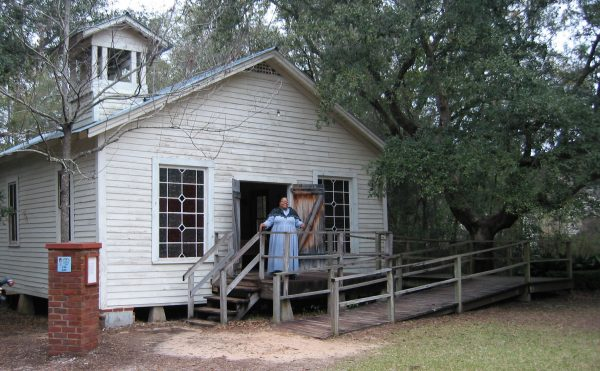 Bellevue plantation house at the Tallahassee Museum in Florida.