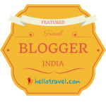 Blogger Badge Top Blog Award from HelloTravel