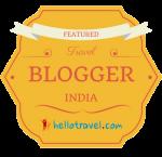 Blogger Badge Top Blog Award from HelloTravel