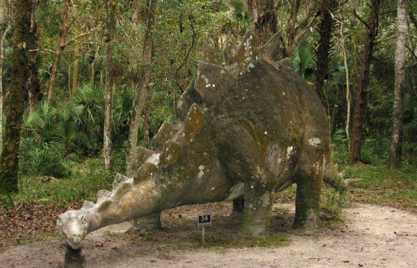 Dinosaur in Bongoland, near Daytona, Florida.