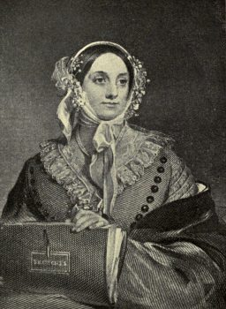 Eliza Leslie - Public Domain photo downloaded from WikiMedia Commons.
