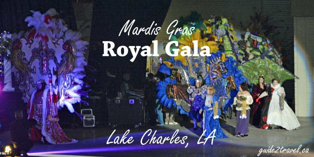 Mardi Gras Family Style in Lake Charles, Louisiana