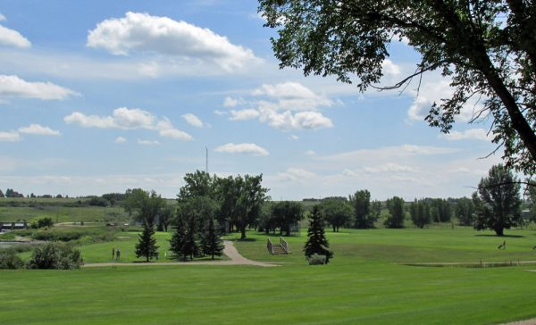 Golf course in Moose Jaw, Saskatchewan.