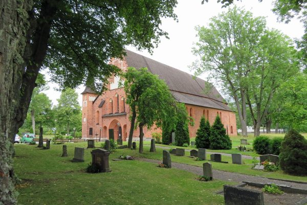 St. Mary's Parish Church of the town of Sigtuna, Sweden.