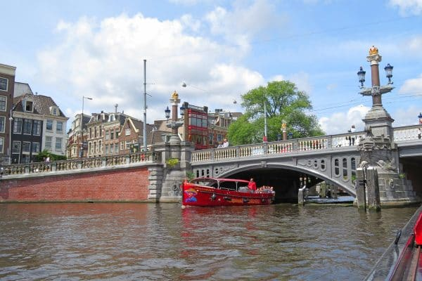 One of Amsterdam's around 4000 bridges.