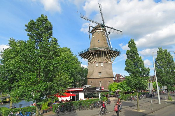 Windmill in Amsterdam.