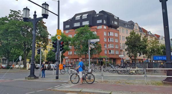 Busy Berlin Street