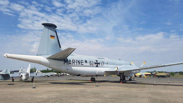 Cold War era airplane.