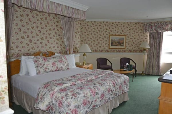 Room at the Ascot Suites, in Morro Bay, California.