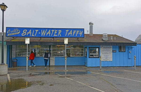 Crill's Salt Water Taffy in Morro Bay, California.