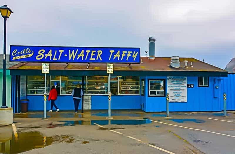 Crill's Salt Water Taffy in Morro Bay, California.