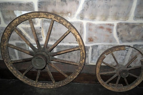 The wheel used as a torture device in the Middle Ages.