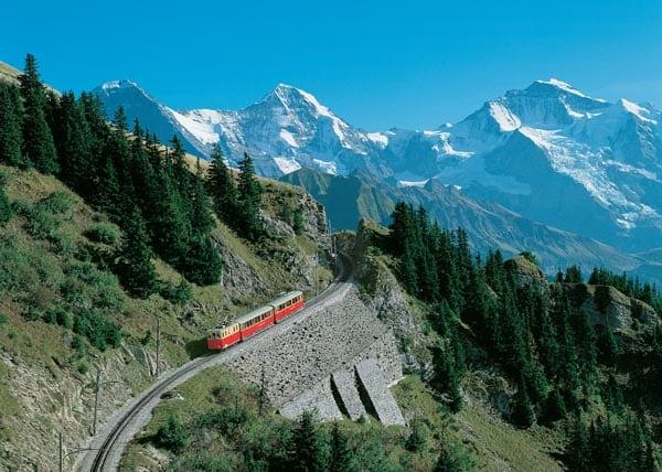 Switzerland - Schynige Platte - Jungfrau railway