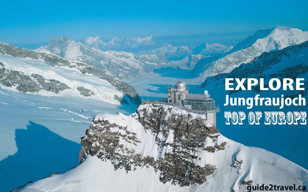 Jungfraujoch – Top of Europe Glacier, Snowfun Park, & Ice Palace