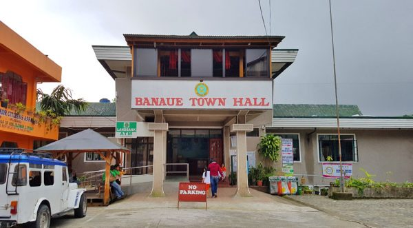 Banaue Town Hall in Ifugao province of the Philippines.
