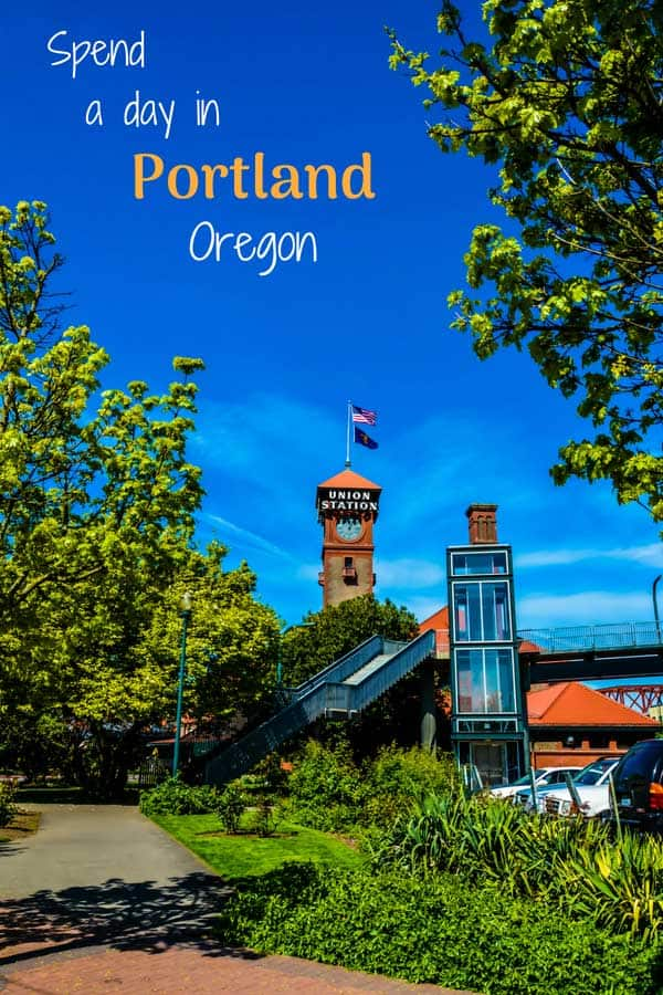 Spend a day in Portland, Oregon!