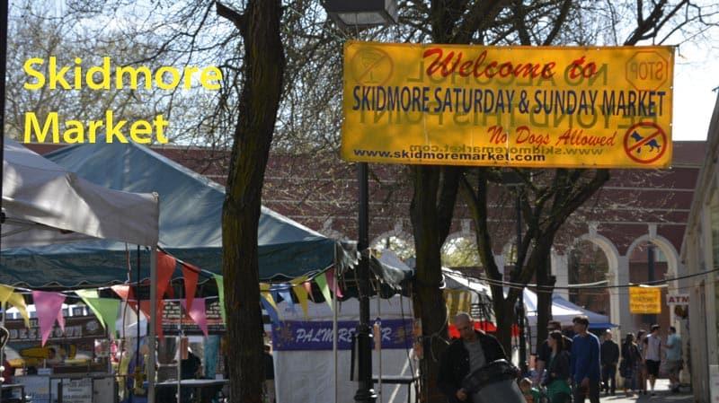 Skidmore Market in Portland, Oregon.