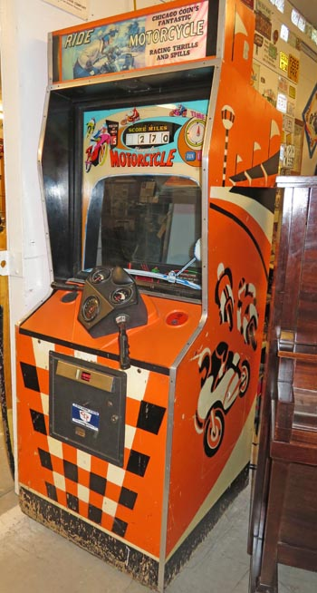 Arcade machine at Miracle of America Museum.
