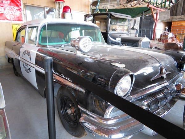 1950s Polson police car.