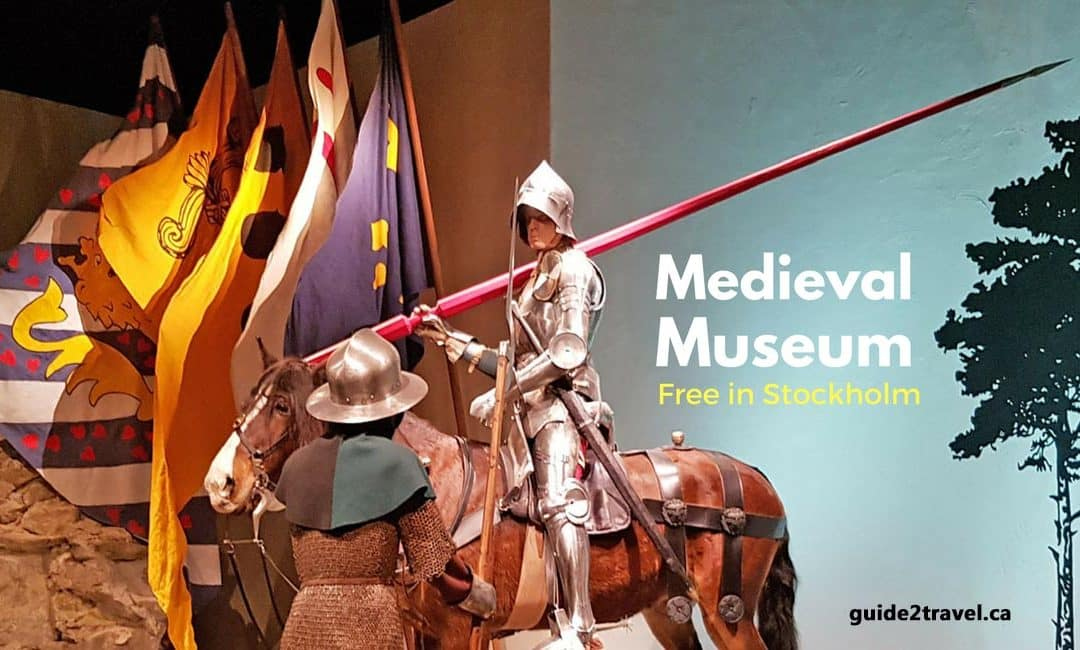 FREE Things to See in Stockholm: Knights & Castle Walls at the Medieval Museum
