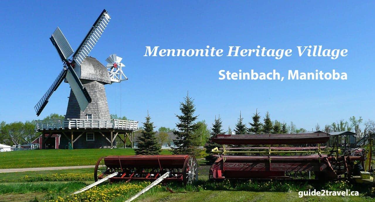 Mennonite Heritage Village in Steinbach, Manitoba. Photo from Pixabay.com