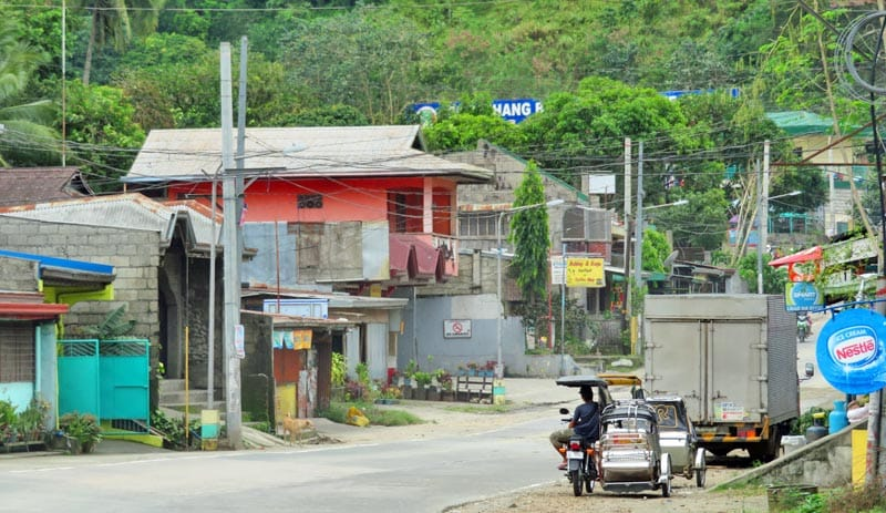 Small village in the Philippines.