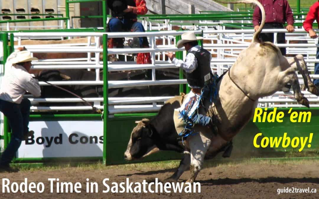 Rodeo Bull Riding, Bronc Busting, Calf Roping & More: Things to See in Saskatchewan