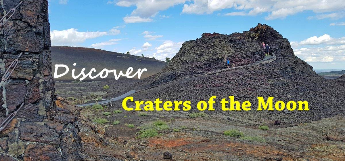 Craters of the Moon National Monument & Preserve in Idaho.