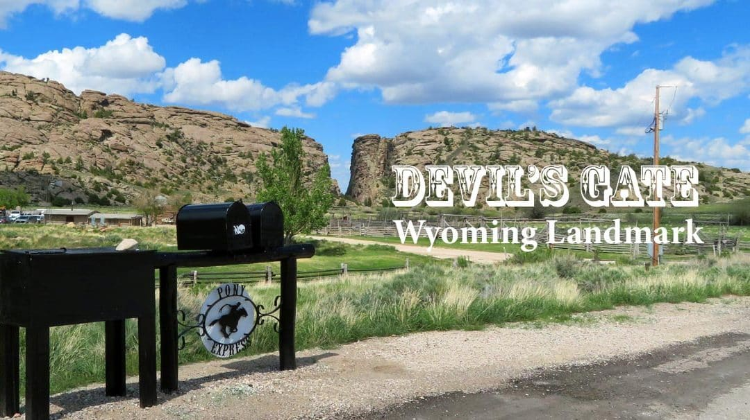 Discover the Legends of Devil's Gate — Landmark in Wyoming