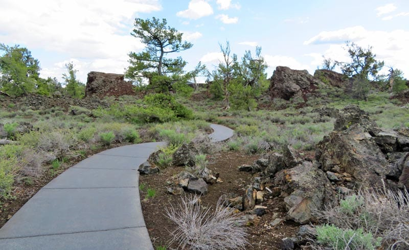 Devil's Orchard Trail at Craters of the Moon