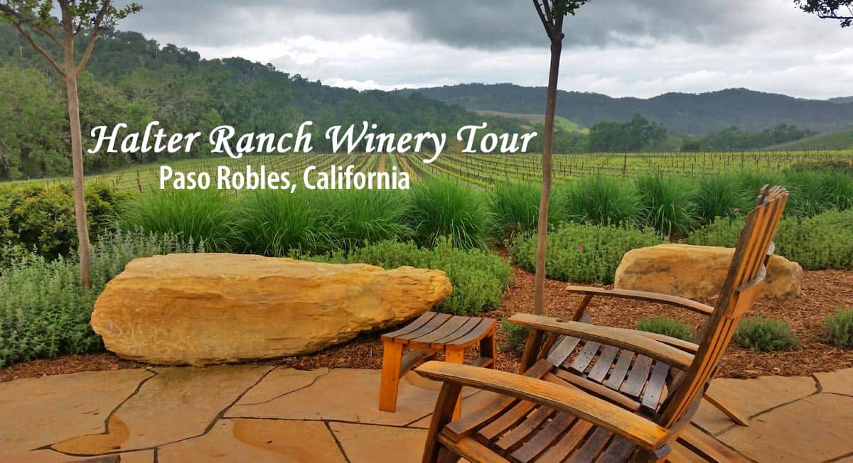 Halter Ranch Winery Tour in Paso Robles, CA.