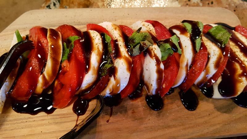 Caprese at The Tangled Tumbleweed in Scottsbluff, Nebraska