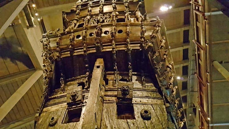 VASA, the Swedish warship that sank.