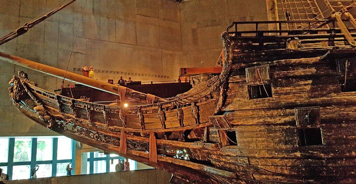 VASA - ship in Stockholm's most visited museum.