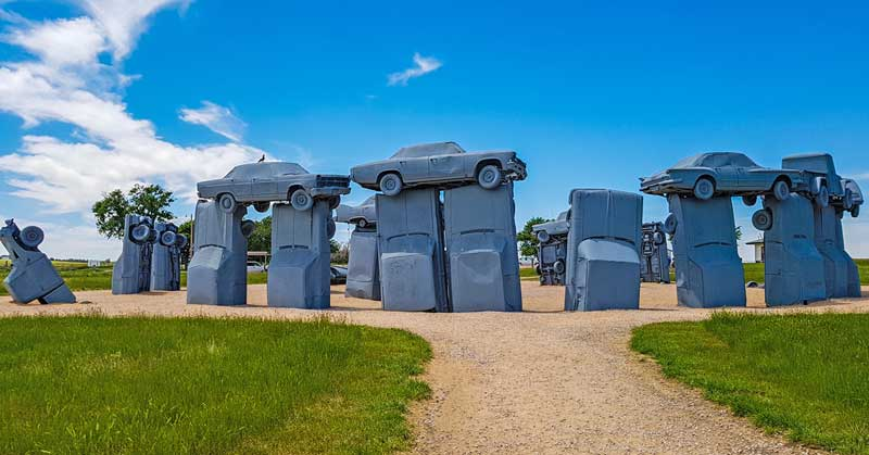 Discover Carhenge Pop Culture Roadside Attraction in Nebraska